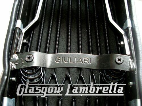 Lambretta Li Special Scooter Repro//Copy GIULIARI BLACK DUAL SEAT