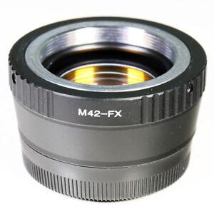 0-72x-Focal-Reducer-Speed-Booster-M42-screw-lens-to-Fujifilm-X-Adapter-FX-Fuji