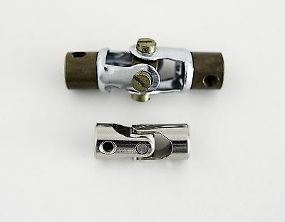 Meccano Exacto Universal Coupling Compact Short Narrow Joint Shaft UJ Axle 4mm.