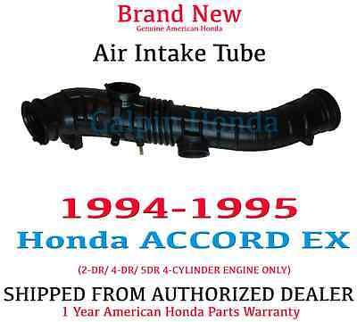 Genuine OEM Honda Accord EX LX SE 4Cyl Air Intake Tube 1998-2000