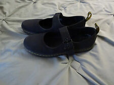 Dr. Martens 7039 Womens Carnaby Black Mary Janes Shoes 9 Medium (B,M)
