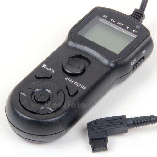 KodifotoJJC Mando Disparador Temporizador Intervalometro Sony A200 A560