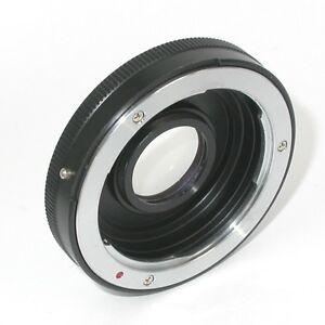 Adattatore-fotocamera-Nikon-x-obiettivo-Contax-Yashica-Adapter-ring-ID-3248