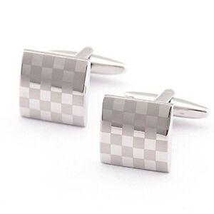 Stainless Steel Cuadrdo Cufflinks