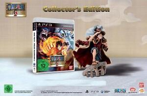 One-Piece-Pirate-Warriors-2-Luffy-039-s-Figurine-Playstation-3