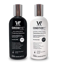"""Watermans Hair Growth Set: """"Grow Me"""" Shampoo + """"Condition Me"""" Conditioner"""
