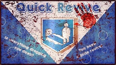 Nazi Zombies Quick Revive Perk Mini Laminated A4 Poster Black Ops Call Of Duty Ebay