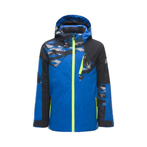 Spyder-Boy-039-s-Leader-Kinder-Skijacke