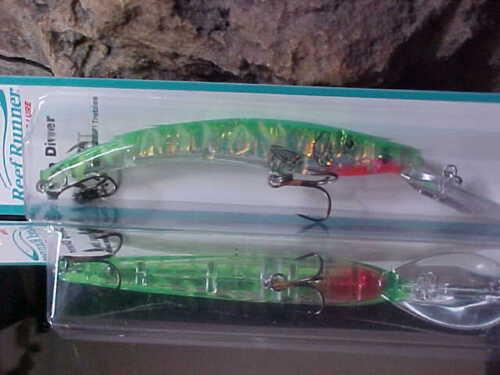 Reef Runner 800-186 Series Deep Cast//Troll Lure for Trout//Bass//Walleye//Salmon