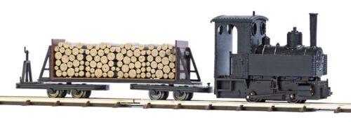 HS  Busch 12011 Feldbahn-Start-Set mit Dampflok HOf