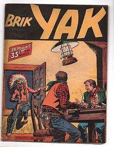 BRIK-YAK-n-46-1952-Aventures-et-Voyages-Tres-bel-etat