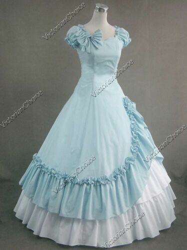 VictorianInspiredWomensClothing Southern Belle Gown Victorian Dress Theater Cosplay Women Halloween Costume 208 $134.85 AT vintagedancer.com