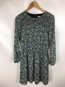 Details zu EDC by ESPRIT Kleid, Größe 36, geblümt