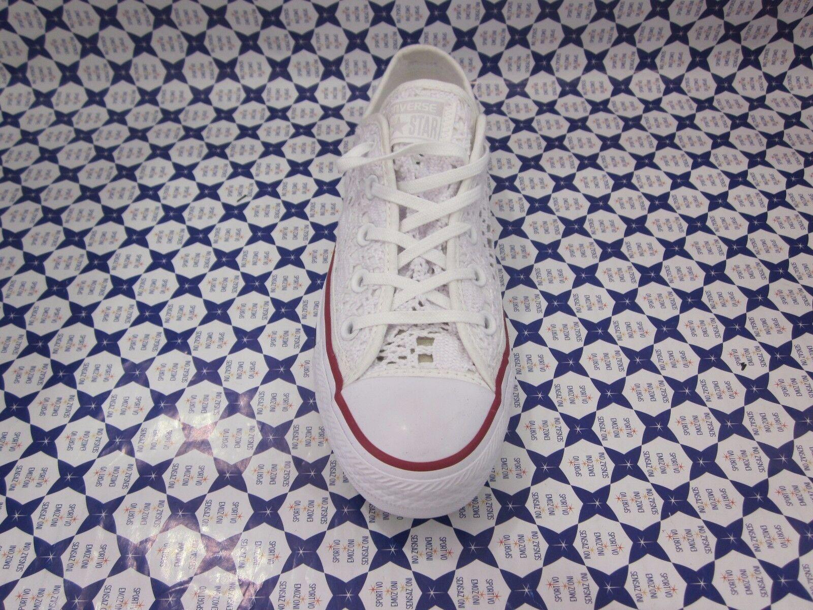 Chaussure Converse All Star Ox Suela blancoo Croché Casual blancoo Suela 549314 161 dcddba