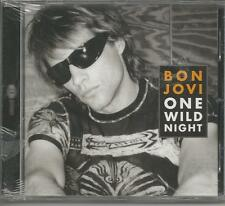 BON JOVI - One wild night - CDs SINGLE 4 TRACKS SEALED