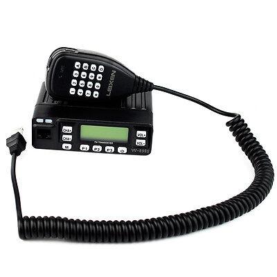 Mobile Car Radio LEIXEN VV-898S VHF/UHF 199CH Scrambler DTMF APRO Transceiver as