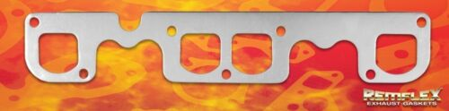 "Exhaust Gasket SBC V8 Brodix /""12/"" Raised D Port 1-13//16 x 1-3//4 Remflex RF2015"