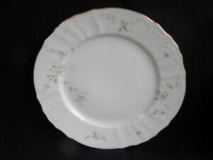 Vintage-Boscov-s-European-Collection-China-Petite-Fleur-Pattern-Dinner-Plate