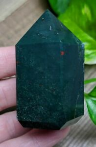ONE-1-BLOODSTONE-Chunky-Abstract-Generator-Crystal-Reiki-Charged-Read-Below