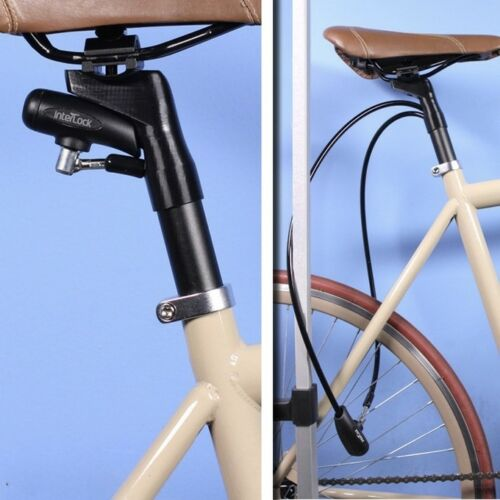 Interlock Seatpost with integrated bike lock 27.2 300mm Bicycle Theft Protection