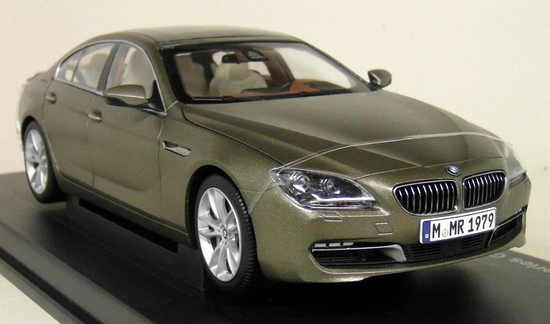 Paragon 1/18 SCALA BMW serie 6 6 6 F06 650i Gran Coupe congelato Bronzo Diecast Auto 1404bd