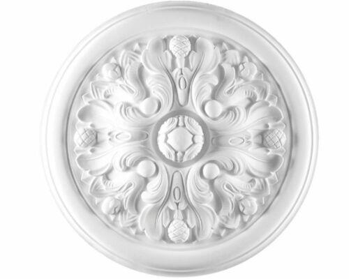 Rosone in gesso colore bianco diametro 46 cm Toscan Stucchi Linea Gesso Art 851
