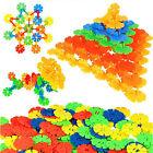 Trendy 400Pcs Kid Baby Snowflake Creative Building Blocks Educational Toys New