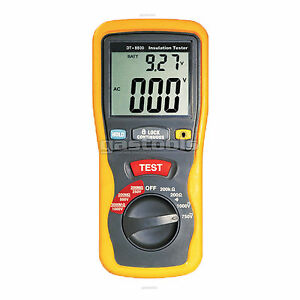 NEW-PRO-INSULATION-TESTER-MEGGER-OHM-METER-CAT-III-1000
