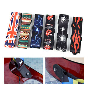 Nylon-Guitar-Strap-for-Acoustic-Electric-Guitar-and-Bass-Multi-Color-Guitar-Bel