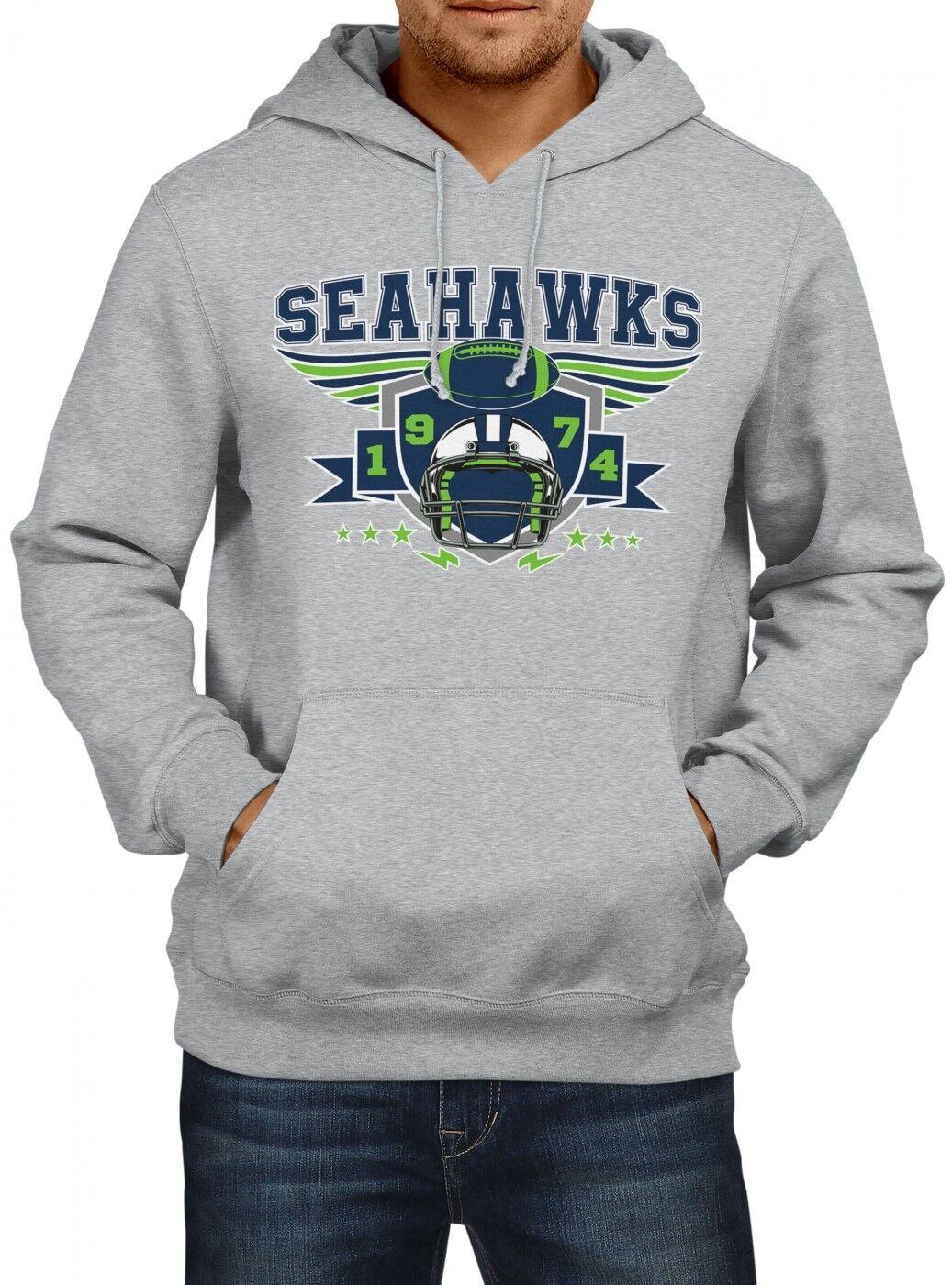 Seahawks Seahawks Seahawks Premium Hoodie 1974 Super Bowl American Football Herren Kapuzenpullover | Online  | Gewinnen Sie hoch geschätzt  | Hohe Qualität und günstig  92ea4a