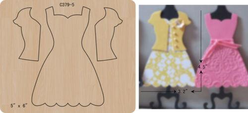 New skirt Wooden die Scrapbooking Cutting Dies C-379-5