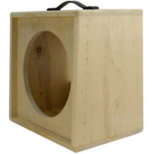 1x12 solid Pine, Raw wood Extension Guitar speaker Empty cabinet ...
