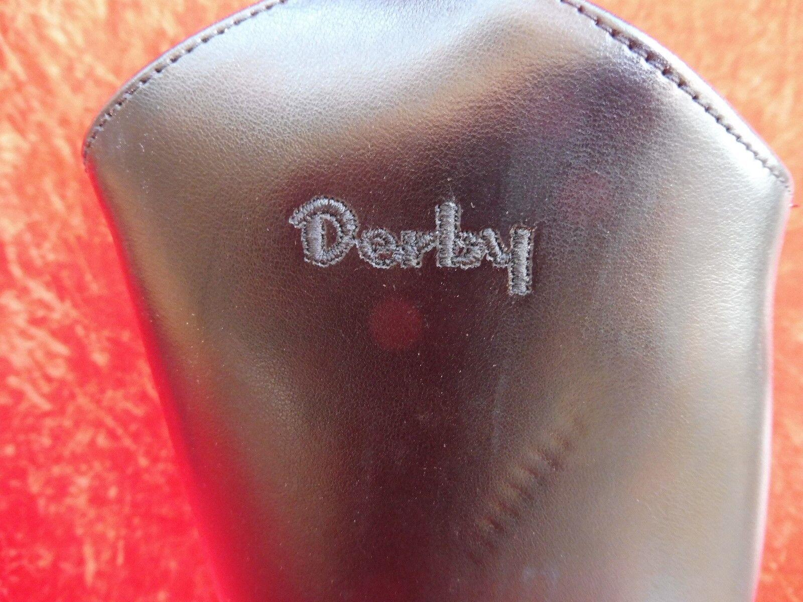 Reitstiefel derby __ modelo: 37 Topper ___ tamaño 37 modelo: __ cuero __ negro __ nuevo __ 570ee6