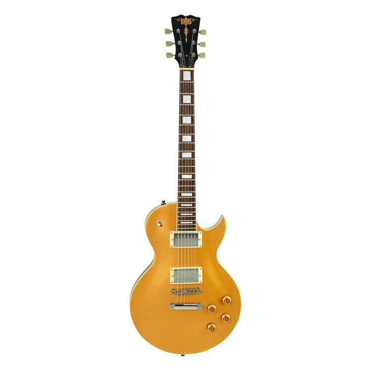 R&B LP Style Electric Guitar - Gold Top