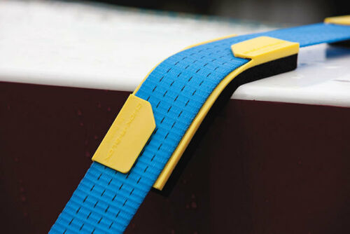 Chok a Blok 25mm - 38mm webbing ratchet strap guard with foam base