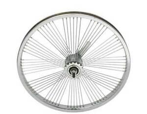 "LOW RIDER LOWRIDER BIKE bicycle 24/"" 144 Spoke REAR Free Wheel 14G Chrome"