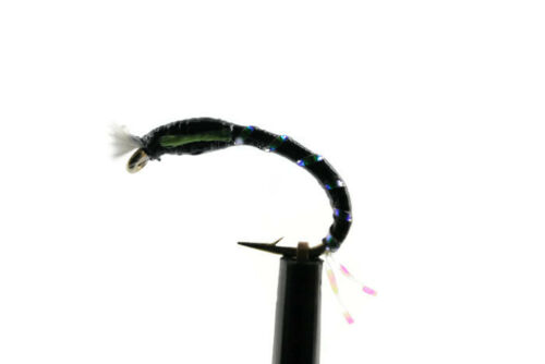 Crystal Buzzers Stillwater Fly Fishing Emerging Trout Flies Lake Rainbow Trout