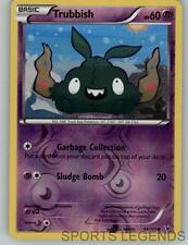 2011 pokemon Noble Victories reverse holo Trubbish 48/101