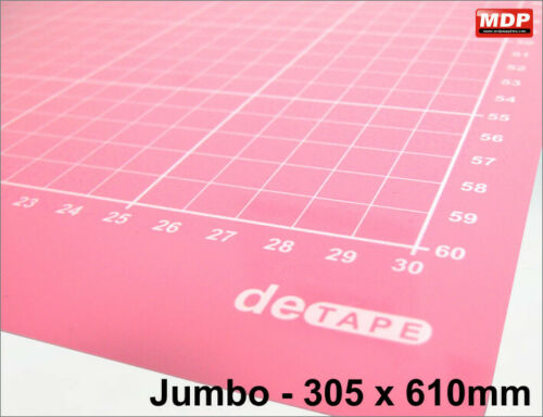 DeTape Jumbo 610mm Standard Tack Carrier Sheet
