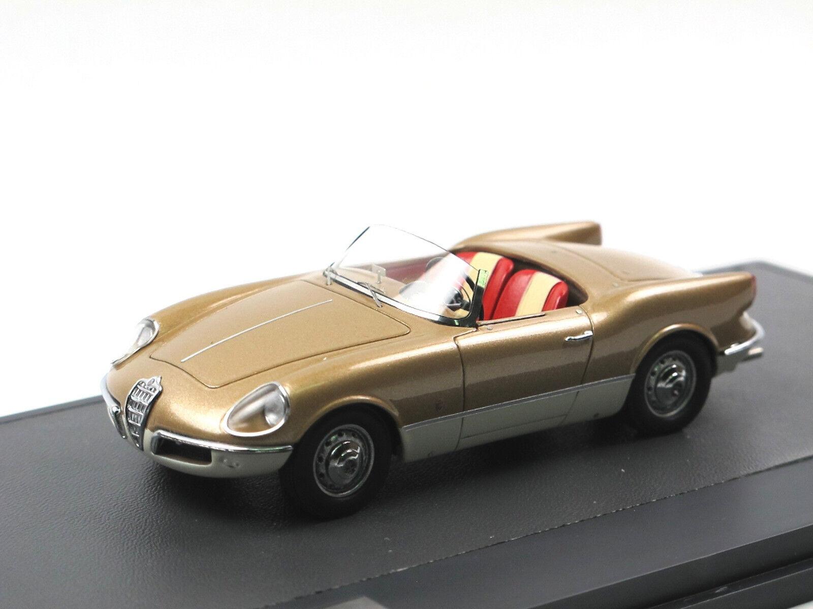 MATRIX SCALE MODELS - 1956 ALFA ROMEO GIULIETTA SPIDER BERTONE Prougeotipo 1 43