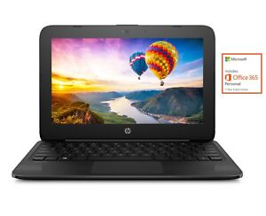 NEW-HP-11-6-034-Intel-Dual-Core-2-6GHz-4GB-32GB-Windows-10-Streambook-w-Office-365