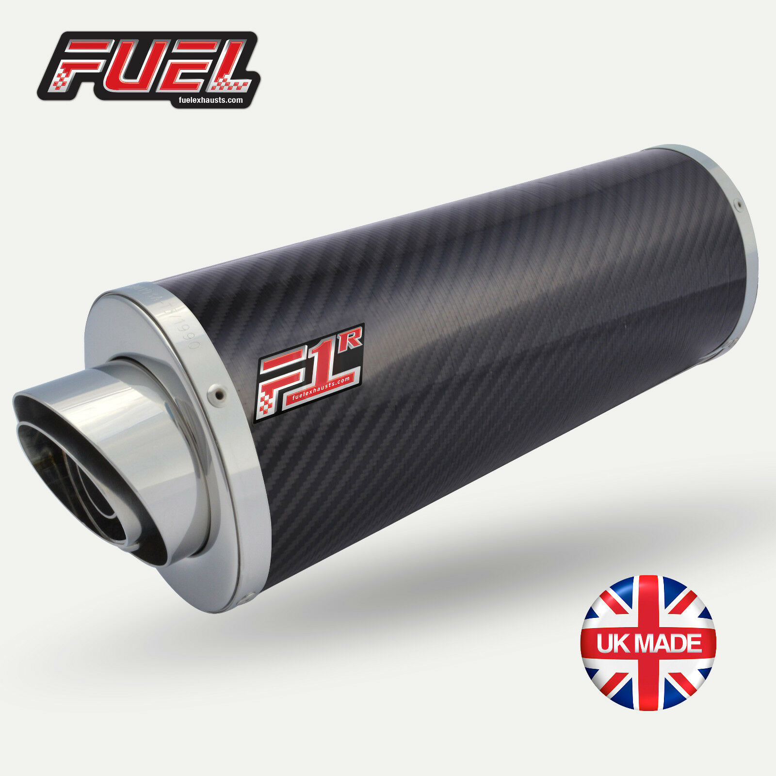 Cbf1000f   Gt 2011 + F1r Road Karbon Oval Mittel UK Straßenzulassung Auspuff +