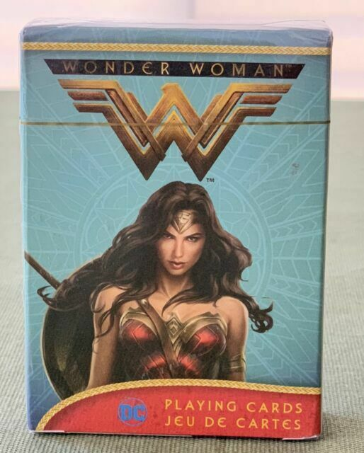 Wonder Woman Movie Playing Card Deck 52 Cards New Justice League 52489
