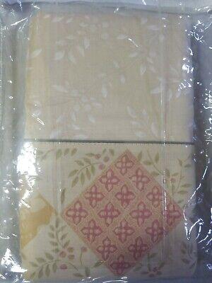 Brand New 2 CROSCILL ELLA KING Pillowcases