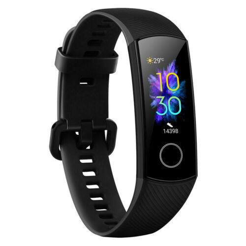 Honor Band 5 Meteorite Black Fitness Tracker with Connected GPS and HR Monitor