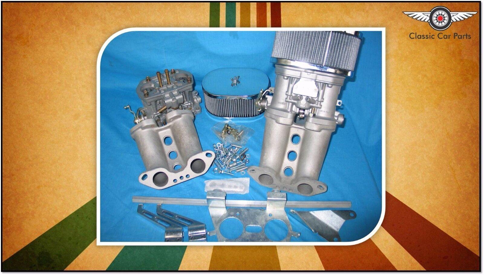 Details about Kombi, VW type 2 Twin Port Engines- Twin FAJS 40 IDF (Weber  Copy) Carburetor Kit