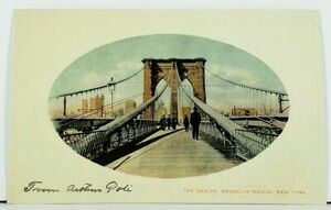 NY-The-Cables-Brooklyn-Bridge-c1907-New-York-Postcard-D18