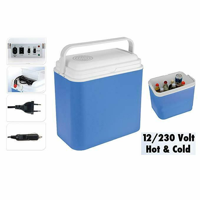 EXCALLENT Cooler 12 Volt 230 Volt Warms  and Cools Camping Holiday RRP 89,95  up to 70% off