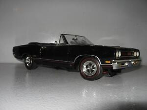 Image Is Loading 1 18 Ertl American Muscle Black 1969 Plymouth