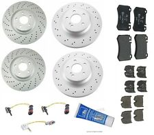 NEW Mercedes W219 W211 CLS55 AMG E55 AMG Front And Rear Brake KIT Pads Rotors